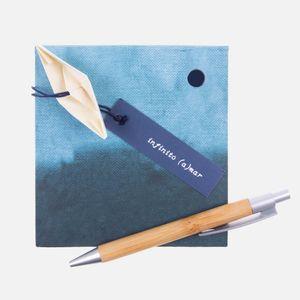 Bloco_de_anotacao_mare_cheia_azul_caneta_2_Papel_Craft