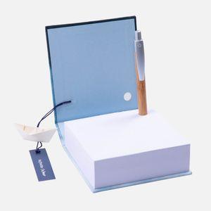 Bloco_de_anotacao_mare_cheia_azul_caneta_1_Papel_Craft