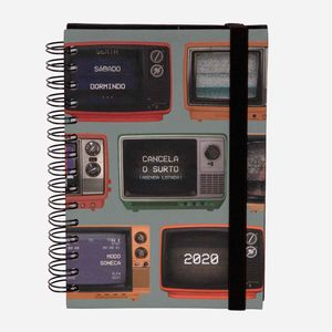 Agenda_2020_com_estampa_TV_Retro_AG1407_1_Papel_Craft