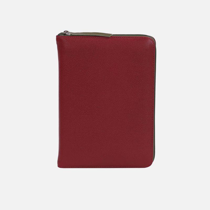 Agenda-2020-Vermelho-couro-ziper-AG1427-1-Papel-Craft