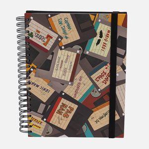 Caderno-universitario-Escolar-10-materias-180-folhas-disquete-1-CA2229-Papel-Craft