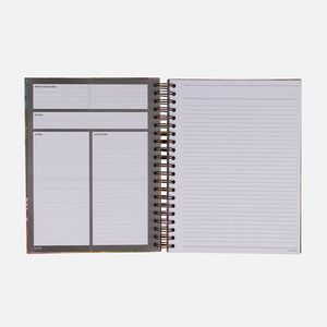 Caderno-universitario-Escolar-10-materias-180-folhas-Floral-Noite-3-CA2229-Papel-Craft