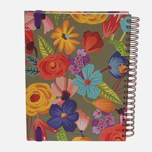 Caderno-universitario-Escolar-10-materias-180-folhas-Floral-Noite-4-CA2229-Papel-Craft