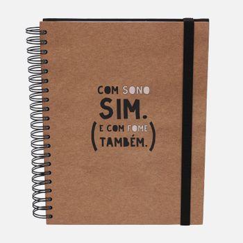 Caderno-universitario-Escolar-10-materias-180-folhas-Sono-Fome-1-CA2229-Papel-Craft
