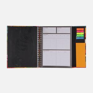 Caderno-universitario-Escolar-com-aba-90-folhas-Floral-Noite-2-CA2982-Papel-Craft