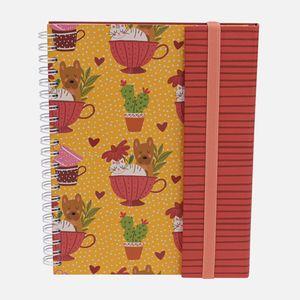 Caderno-universitario-Escolar-com-aba-90-folhas-Mari-Pets-1-CA2982-Papel-Craft
