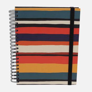 Caderno-universitario-Escolar-10-materias-180-folhas-Listras-1-CA2229-Papel-Craft