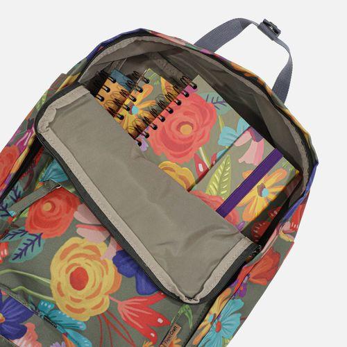 Mochila-Quadrada-Estampada-pequena-Floral-Noite-4-CO2752-Papel-Craft