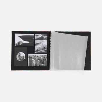 Album-de-fotos-grande-espiral-Floral-Noite-2-AL975-Papel-Craft
