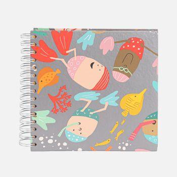 Album-de-fotos-espiral-infantil-bebe-Batutinhas-Aquaticos-1-AL1010-Papel-Craft
