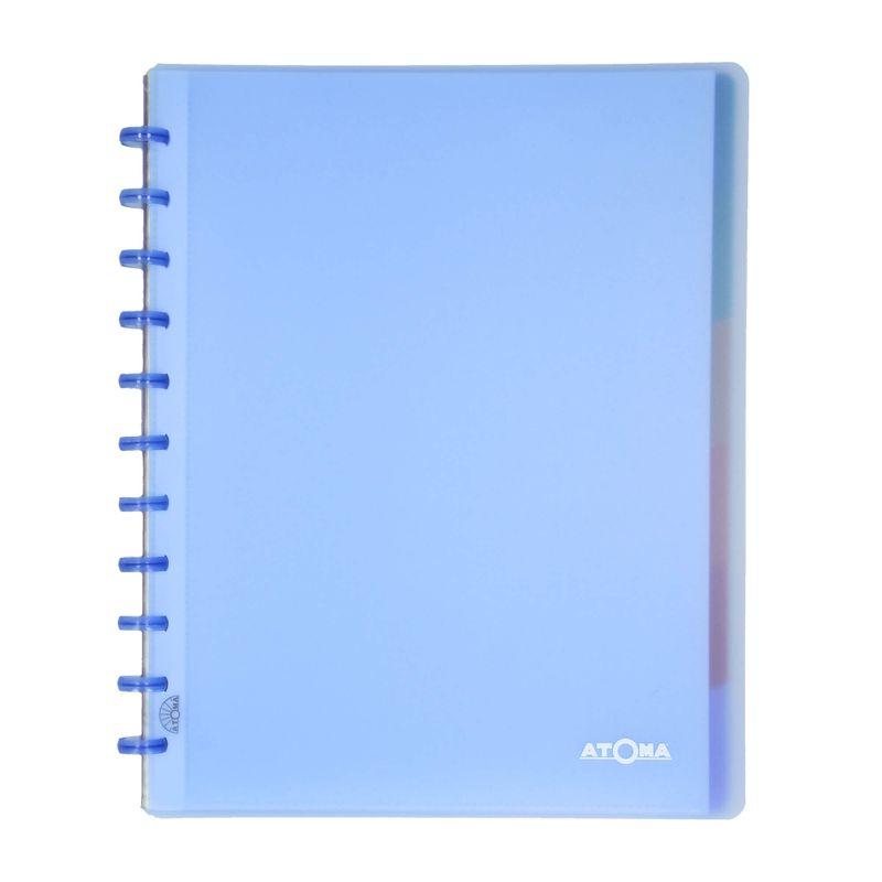 Caderno-A4-argolado-inteligente-disco-Azul-1-CA3102-Papel-Craft