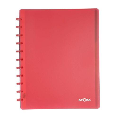 Caderno-A4-argolado-inteligente-disco-Vermelho-1-CA3102-Papel-Craft