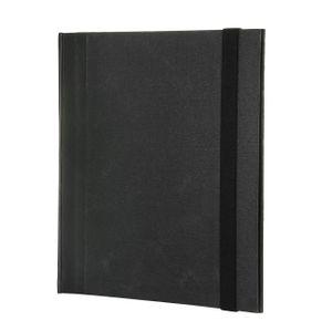 Fichario-A4-Cartonado-preto-liso-elastico-2-FI1095-Papel-Craft