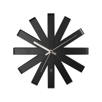 re1619-RELOGIO-DE-PAREDE-RIBBON-WALL-CLOCK-BLACK