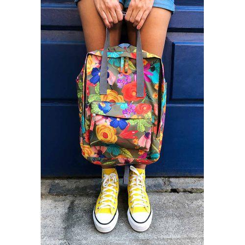 mochila-quadrada-pequena-floral-noite-de-verao-colorida-feminina-CO2751-Papel-Craft