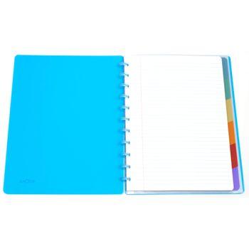 Caderno-A4-argolado-inteligente-disco-turquesa-2-CA3102-Papel-Craft