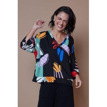 Blusa-Nina-tecido-viscose-Floral-Naif-ROU1300-3-Papel-Craft