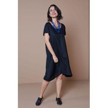 Vestido-Tecido-Recorte-Preto-1-ROU1396-Papel-Craft