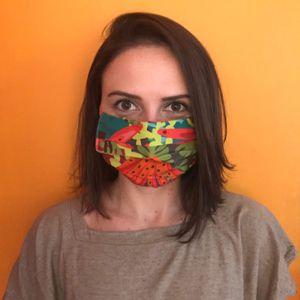 Mascara-Facial-de-Tecido-Estampada-Floral-Matisse-CO2758-1-Papel-Craft