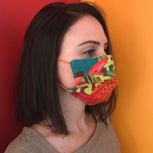 Mascara-Facial-de-Tecido-Estampada-Floral-Matisse-CO2758-2-Papel-Craft