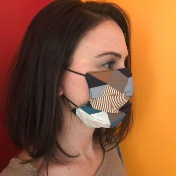 Mascara-Facial-de-Tecido-Estampada-Cubos-Geometricos-CO2758-2-Papel-Craft