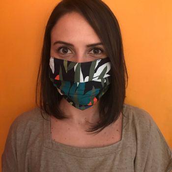 Mascara-Facial-de-Tecido-Estampada-Floresta-CO2758-1-Papel-Craft