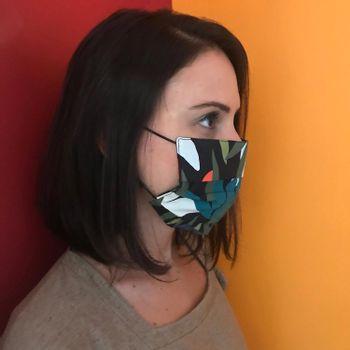 Mascara-Facial-de-Tecido-Estampada-Floresta-CO2758-2-Papel-Craft