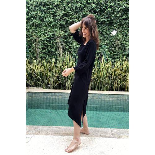 Vestido-nozinho-no-preto-viscose-manga-ROU1445-2-Papel-Craft