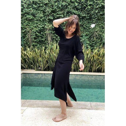 Vestido-nozinho-no-preto-viscose-manga-ROU1445-3-Papel-Craft