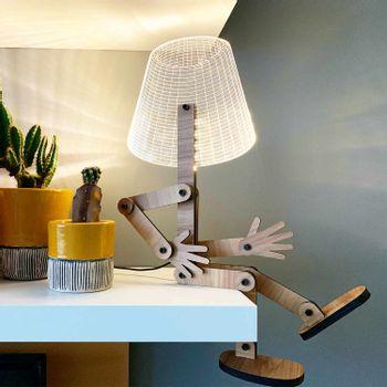 luminaria-articulada-led-papel-craft