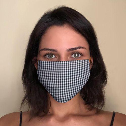 Mascara-Facial-de-Tecido-Estampada-Xadrez-CO2759-1-Papel-Craft