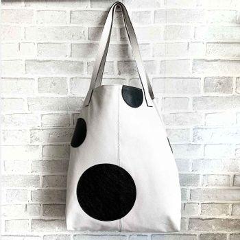 Bolsa-saco-couro-bolas-offwhite-co2771-Papel-Craft