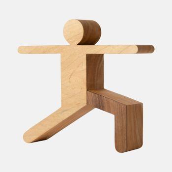 Escultura-de-madeira-pose-yoga-guerreiro-2-VA9757-papel-craft