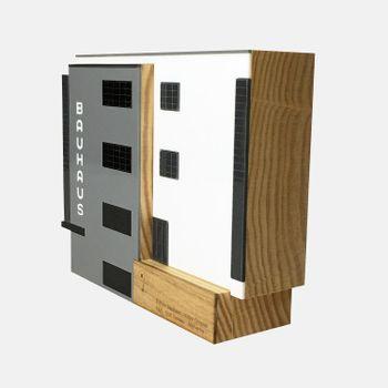 Escultura-de-madeira-edificio-bauhaus-VA9765-2-papel-craft