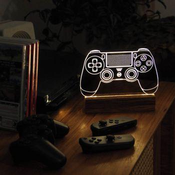 Luminaria-led-base-madeira-playstation-2-VA9862-papel-craft