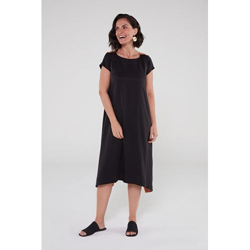 Vestido-de-viscose-preto-ocre-1-ROU1473-papel-craft