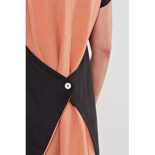 Vestido-de-viscose-preto-ocre-3-ROU1473-papel-craft