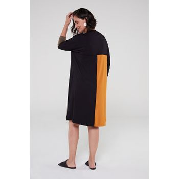 Vestido-de-viscose-preto-mostarda-2-ROU1402-papel-craft
