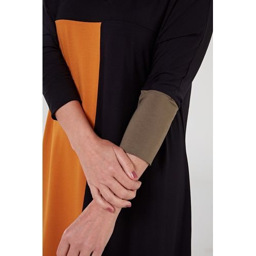 Vestido-de-viscose-preto-mostarda-3-ROU1402-papel-craft