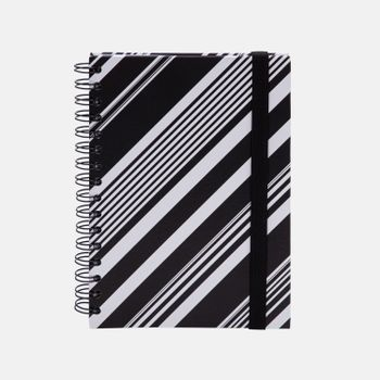 CADERNO-A5-PAUTADO-ESTAMPADO-PB-DIAGONAL-1-CA2350-PAPEL-CRAFT