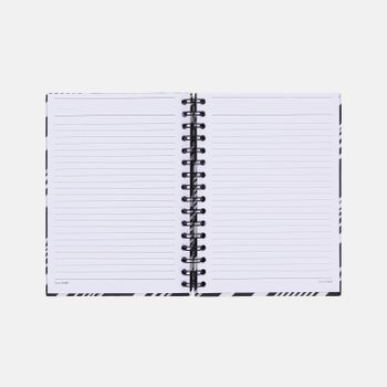 CADERNO-A5-PAUTADO-ESTAMPADO-PB-DIAGONAL-3-CA2350-PAPEL-CRAFT