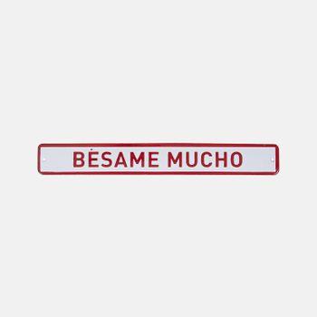 PLACA-DECORATIVA-BESAME-VA9793-PAPEL-CRAFT