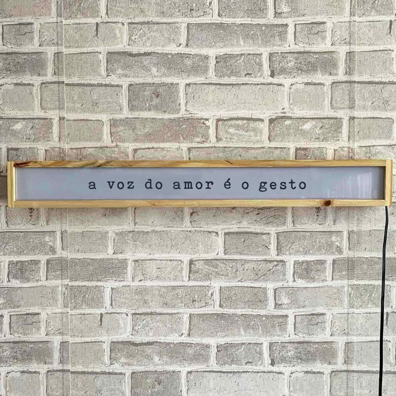 LUMINARIA-DE-PAREDE-COM-FRASE-VOZ-DO-AMOR-VA9703-PAPEL-CRAFT