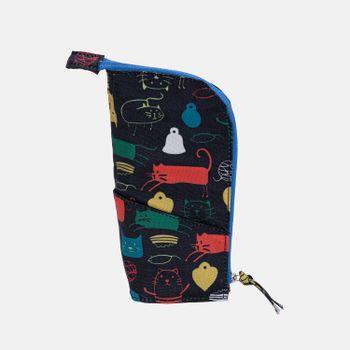 Estojo-escolar-de-tecido-dobravel-1-gatinhos-ES1242-papel-craft
