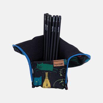 Estojo-escolar-de-tecido-dobravel-2-gatinhos-ES1242-papel-craft